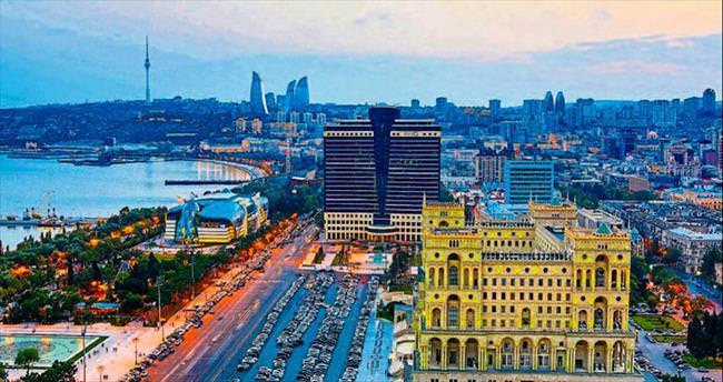 Rüzgarın şehri Bakü