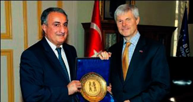 ABD Başkonsolosu'ndan Bursa'ya veda ziyareti