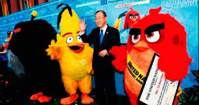 'Kızgın Kuşlar' artık BM elçisi oldu