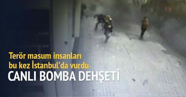 Taksim'de canlı bomba dehşeti