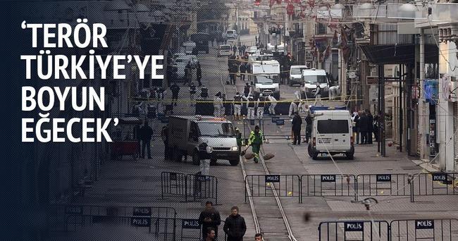 Terör Türkiye'ye boyun eğecek