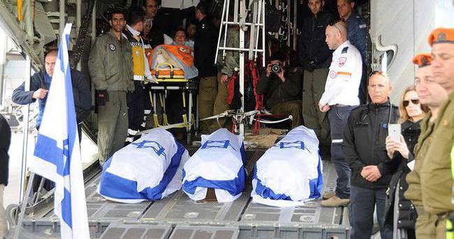 İstiklal'de yaşamını yitiren İsrailliler, askeri uçakla gönderildi
