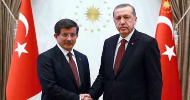 Cumhurbaşkanı Erdoğan'ın Başbakan Davutoğlu'nu kabul etti
