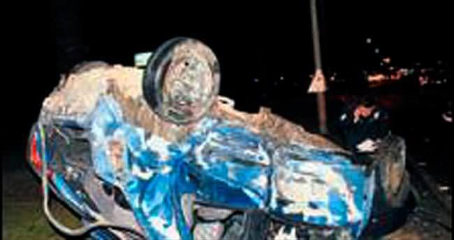 Manavgat'ta kaza: Bir ölü, bir yaralı
