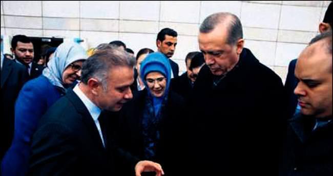 Ertürk ilk günkü heyecanla çalışıyor