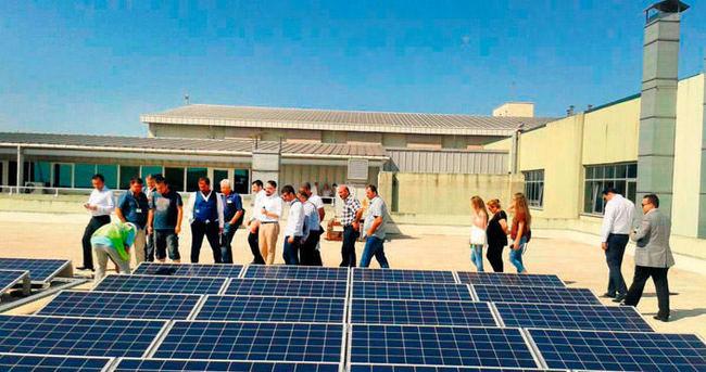 Fabrikalar güneş tarlası olacak