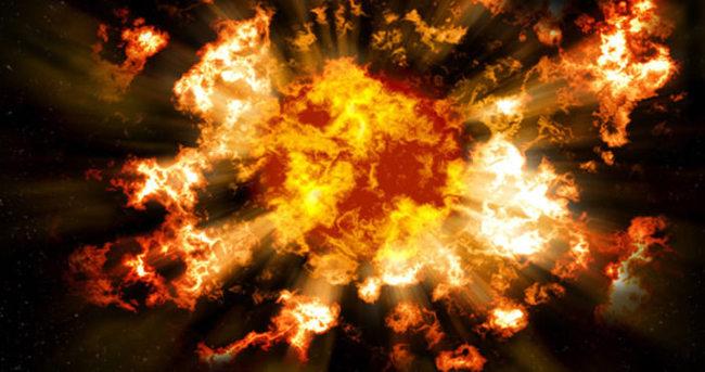 İzmir'de doğalgaz patlaması