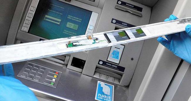 ATM'den kart kopyalayan 3 zanlı tutuklandı