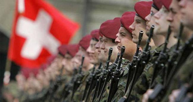 İsviçre , hudut kapılarına ilave asker yerleştiriyor