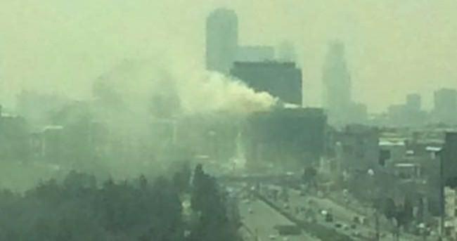 MHP İstanbul İl Başkanlığı'nın bulunduğu binada korkutan yangın