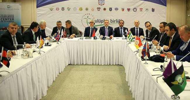Süper Lig AŞ için ıslak imzalar atıldı