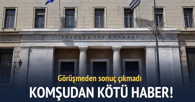 Yunanistan ile kreditörler yine anlaşamadı