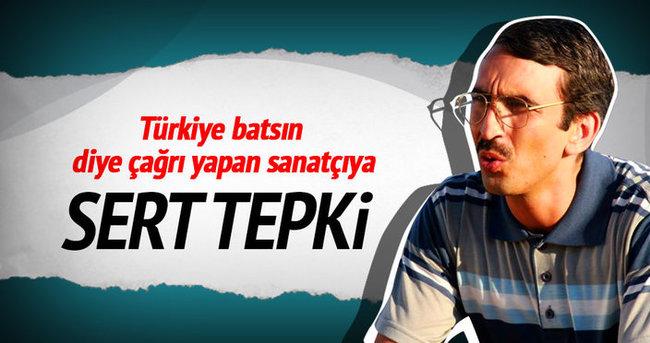 Fırat Tanış'ın Türkiye batsın çağrısına sert tepki