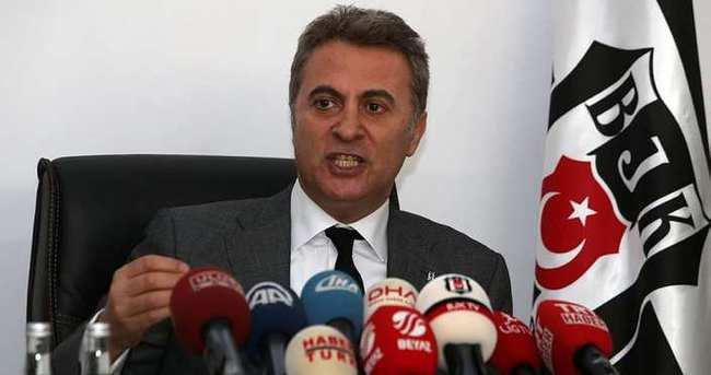 Beşiktaş Başkanı Fikret Orman'dan flaş derbi açıklaması