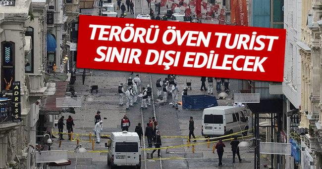 Terör propagandası yapan turist sınır dışı edilecek