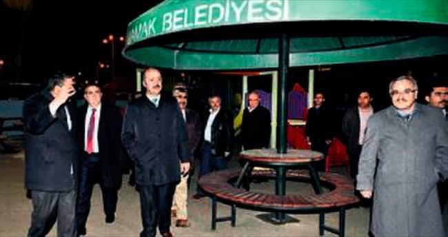 Başkan Akgül'den gece denetimleri