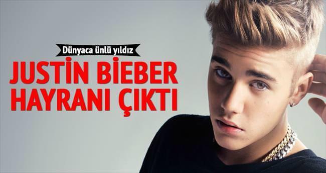 Justin hayranı çıktı