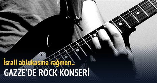 Gazze'de rock konseri