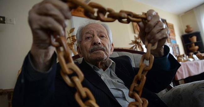 93 yaşında sanatla hayata tutunuyor
