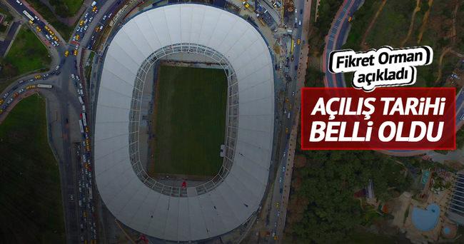Beşiktaş Başkanı Fikret Orman Vodafone Arena'nın açılış tarihini açıkladı