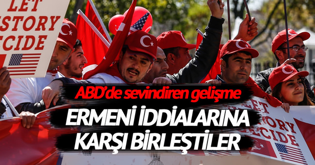 Türk dernekleri Ermeni iddialarına karşı birleşti