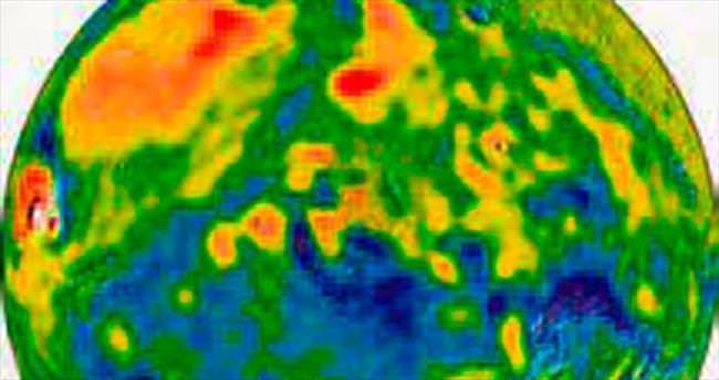 Mars'ın yerçekimi haritası yayımlandı