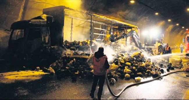 Bolu Dağı Tüneli'nde 6 saatlik yangın dehşeti