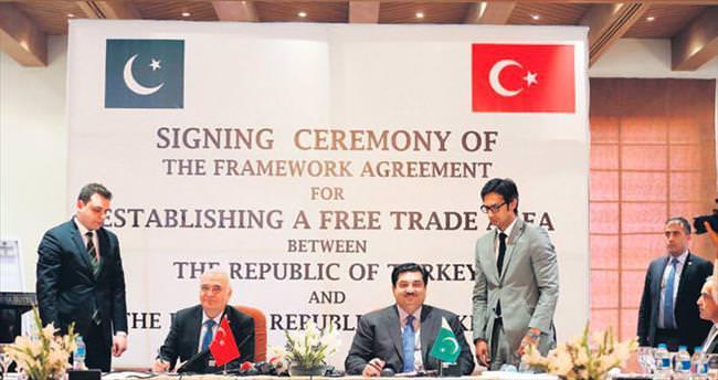 Pakistan'la Serbest Ticaret Anlaşması eylülde Meclis'te
