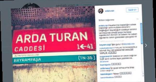 Arda Turan caddesi