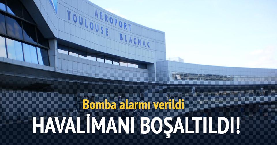 Fransa´da Toulouse Havalimanı güvenlik nedeniyle boşaltıldı