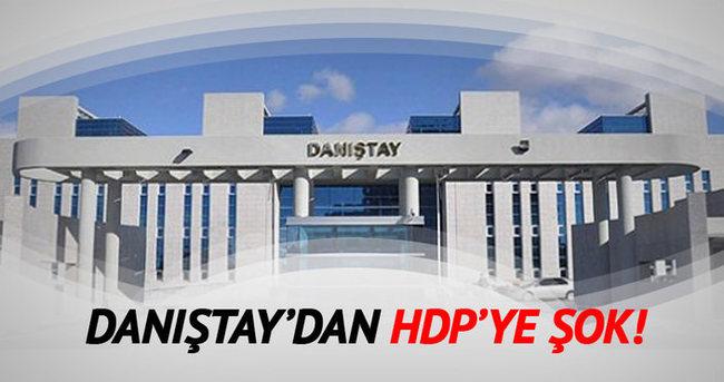Danıştay'dan HDP Eş Başkanlarına şok!