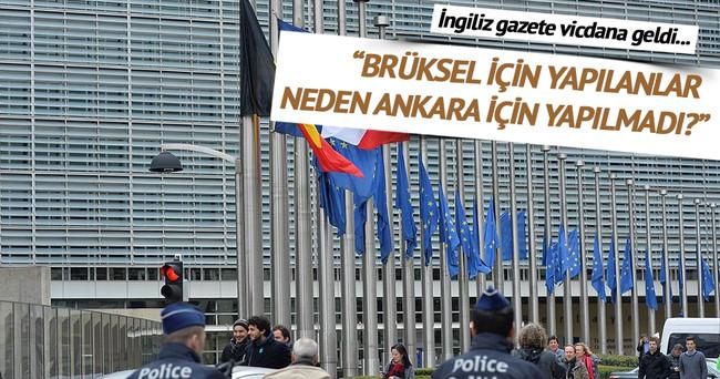 Independent: Brüksel için gösterilen hassasiyet neden Ankara için gösterilmedi?