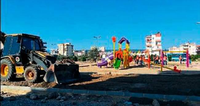 Kepez'e dört yeni park daha geliyor