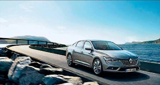 Renault'nun yeni sedanı Talisman