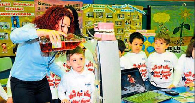 Genç bilimciler Özel Ege'de