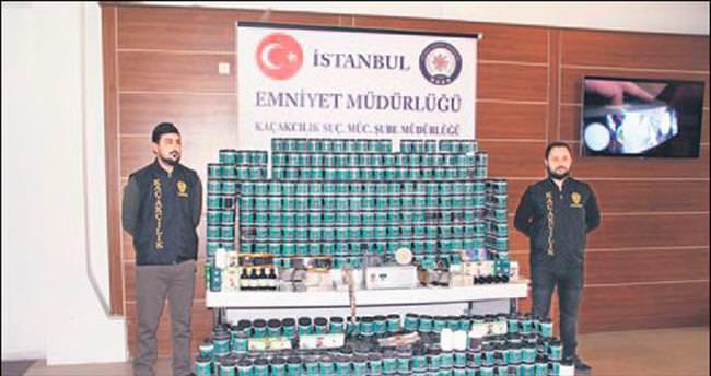 Polisten 500 kiloluk sahte bitkisel ilaç operasyonu