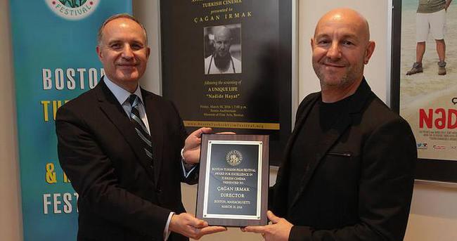 15. Boston Türk Film Festivali'nde Çağan Irmak'a ödül