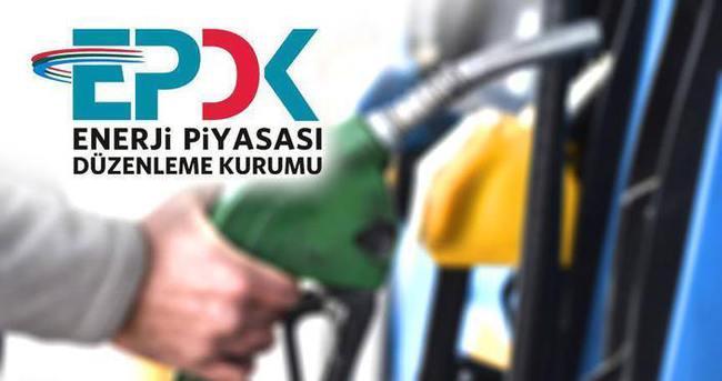 EPDK, 7 akaryakıt şirketine 5,3 milyon lira ceza kesti
