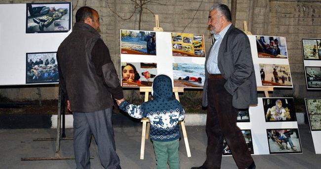 Terör mağduru ailelerin dramı fotoğraf karelerinde