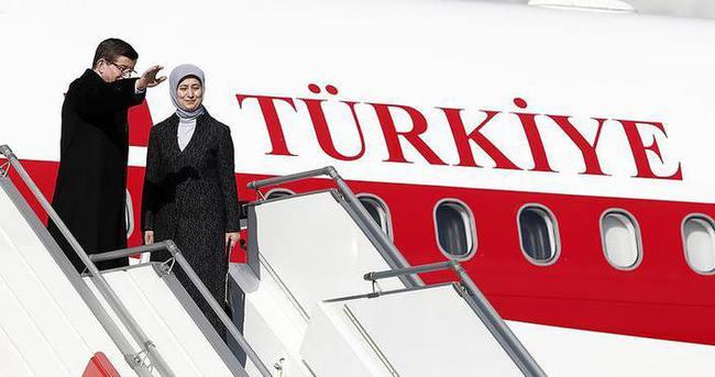 Davutoğlu'na 'Anadolu medyası' da eşlik edecek