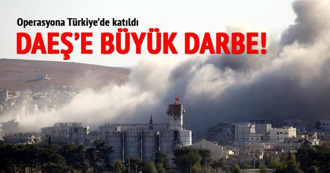 Koalisyon güçleri DAEŞ'i Musul çevresinde vuruyor!