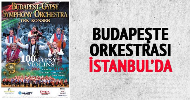 Budapeşte orkestrası İstanbul'da!
