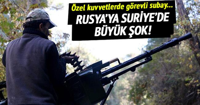 Suriye'de Rus subayı öldürüldü!