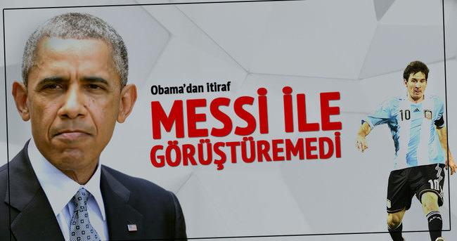Obama'dan itiraf: Bunu ayarlayamadım