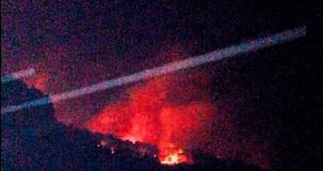 10 hektar yangına yenildi