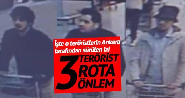 3 terörist 3 rota 3 önlem