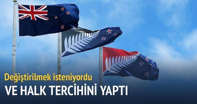 Yeni Zelanda'nın mevcut bayrağı değişmeyecek