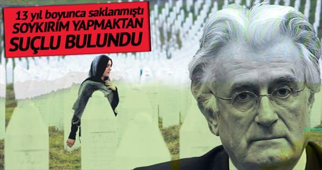 Bosna Kasabı'na 40 yıl hapis