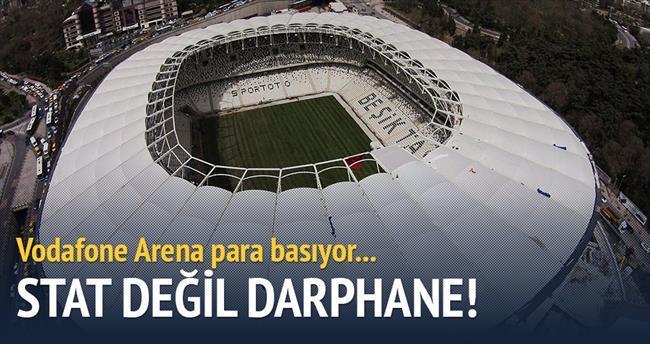Vodafone Arena para basıyor
