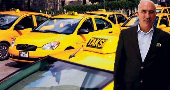 Taksicilerin 'ikiz plaka' isyanı